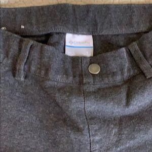 Columbia Pants - Columbia Dark Gray Legging Pant